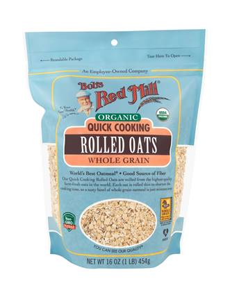 Picture of BRM Organic Oats Rolled Quick 16 OZS