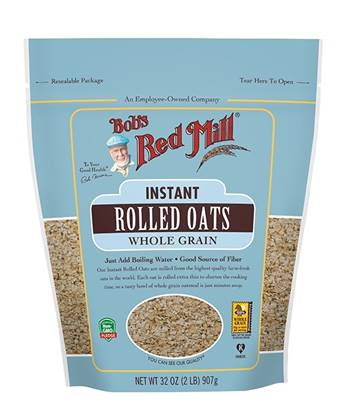Picture of BRM Oats Rolled Instant 32 oz