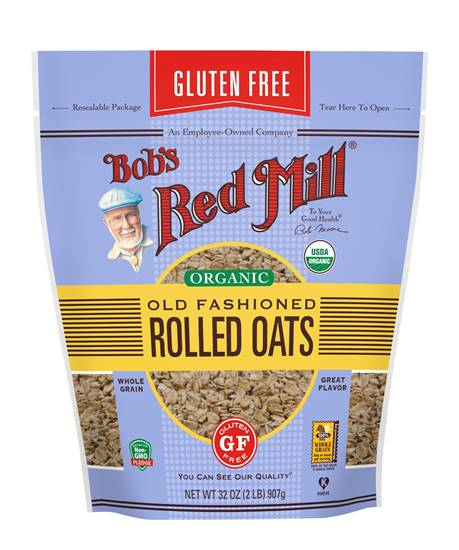Picture of BRM GLUTEN FREE Oats Rolled Regular 32 OZS