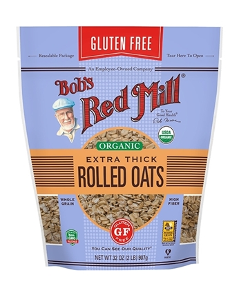 Picture of BRM Organic Oats Rolled Thick 32 OZS*4 New