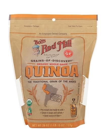 Picture of BRM GLUTEN FREE Organic White Quinoa Grain 26 OZS
