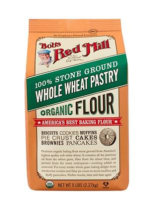Picture of BRM Organic Whole Wheat Pastry Flour 5LB