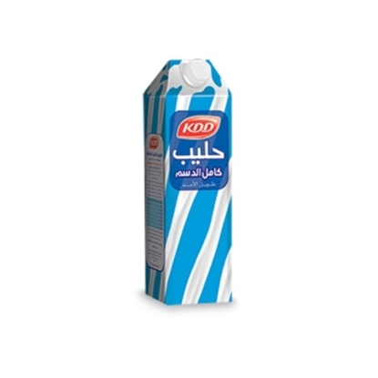 الصورة: KDD FULL CREAM MILK 1 LTR 4 PACK