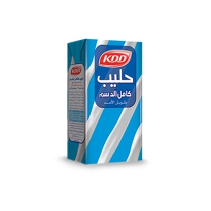 Picture of KDD FULL CREAM MILK 1/4 LTR 6 PACK