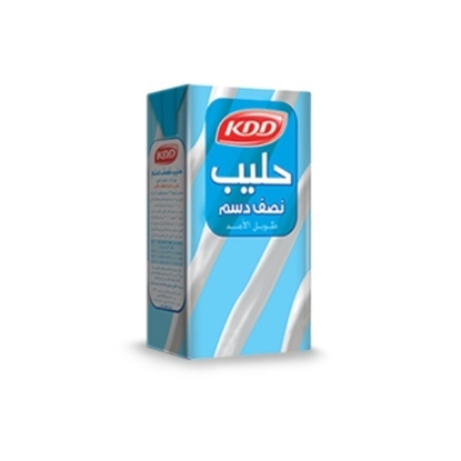 Picture of KDD HALF CREAM MILK 1/4 LTR 6 PACK