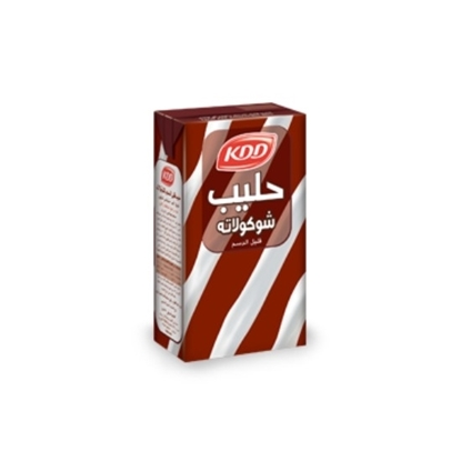 Picture of KDD CHOCOLATE ¼ LTR 6P STRIPED