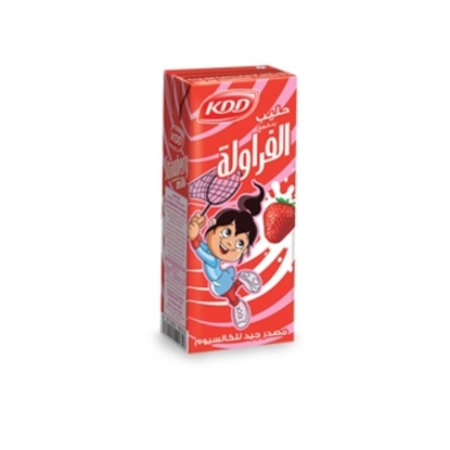 Picture of KDD STRAWBERRY MILK 180 ML