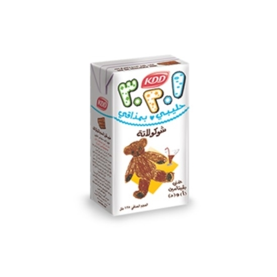 Picture of KDD 123 CHOCO FLV MILK 125 ML 30 PCS