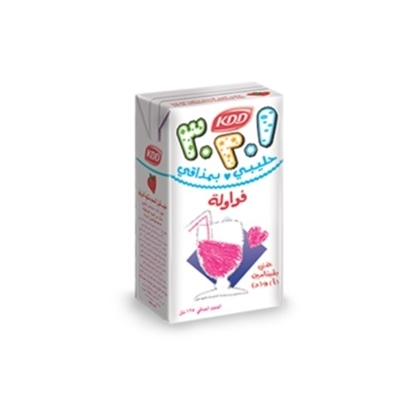 الصورة: KDD 123 STRAW. FLV MILK 125 ML 30 PCS