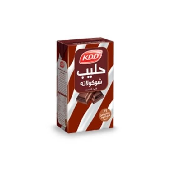 صورة كي دي دي حليب شوكولاتة قليل الدسم خالي من اللاكتوز 250 مل