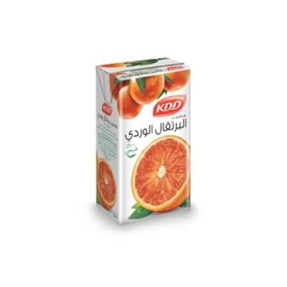 الصورة: كي دي دي عصير البرتقال الاحمر 250 مل