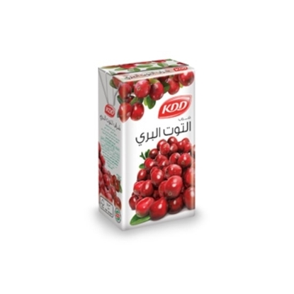 Picture of KDD CRANBERRY JUICE 1/4 LTR PK6