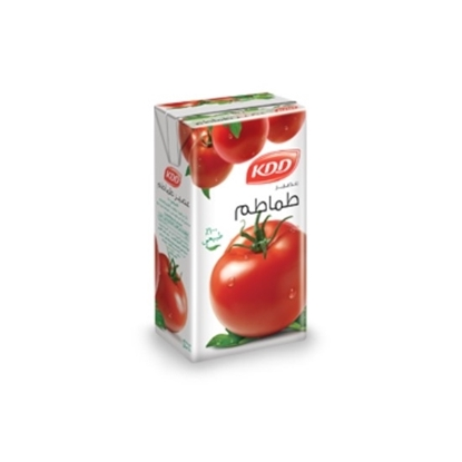 Picture of KDD TOMATO JUICE 1/4 LTR. 6 PACK