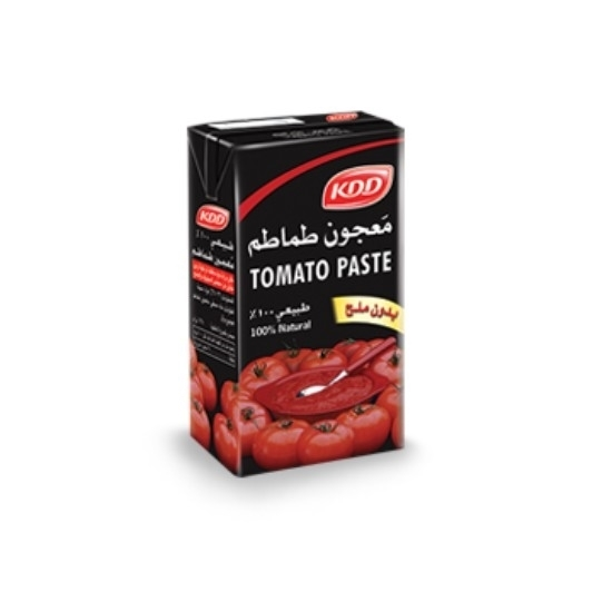 Picture of KDD TOMATO PASTE 40 PCS 8 PACK PULL TAB 135 GM