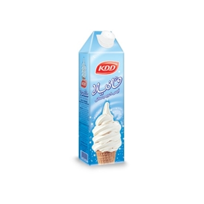 Picture of KDD UHT VANILLA SOFT ICE CREAM 1 LTR