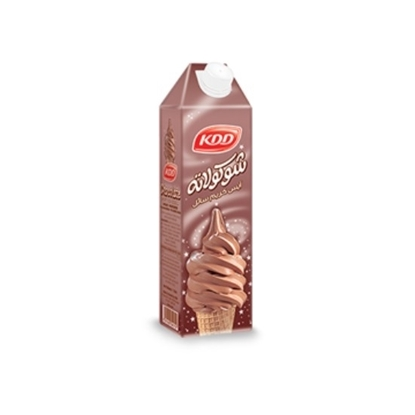 Picture of KDD UHT CHOCOLATE SOFT ICE CREAM 1 LTR