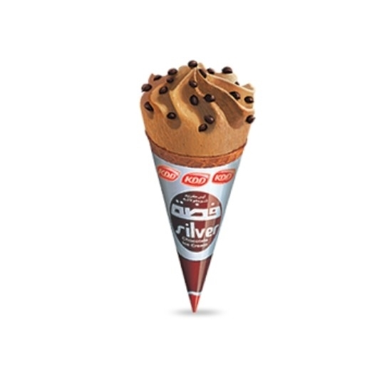 Thawaaq Kuwait Food Marketplace Kdd Silver Ice Cream Cones 24 Pcs