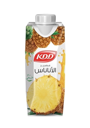 Picture of KDD PINEAPPLE JUICE 1/4 LTR