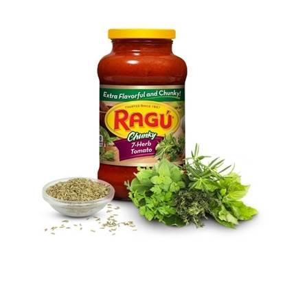 Picture of Ragu 7 herb Tomato 24 Oz