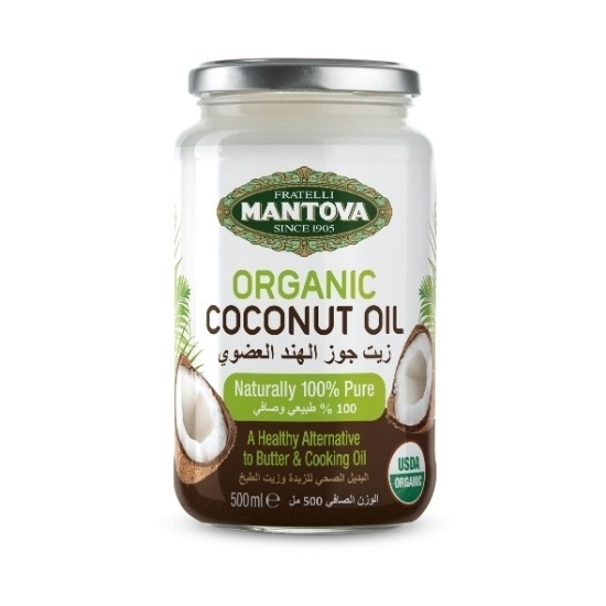 Picture of MANTOVA ORGANIC COCONUT OIL 500ml