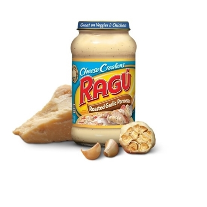 Picture of Ragu Cheese Creations Roasted Garlic Parmessan 453GM