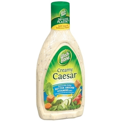 Picture of Wish-Bone Creamy Caesar Salad Dressing 444ML