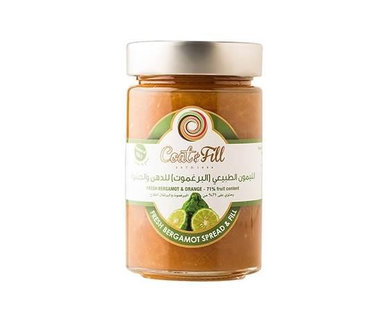 Picture of COAT & FILL Fresh Bergamot Spread & Fill 210g