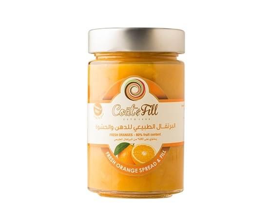 Picture of COAT & FILL Fresh Orange Spread & Fill 210g
