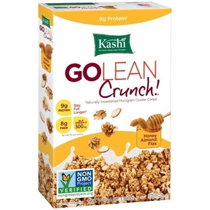 Picture of KASHI Golean Crunch Honey Almond Flax Cereal 397g