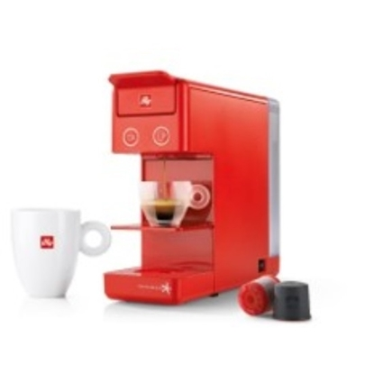 الصورة: Y3.2 coffee machine isperespresso Red