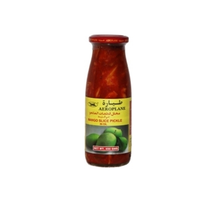 Picture of Aeroplane Mango Slice Pickle in Oil-450GM