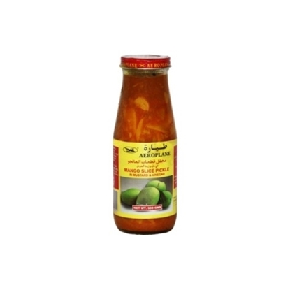 Picture of Aeroplane Mango Slice Pickle In Mustard & Vinegar-450GM