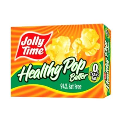 Picture of JOLLY TIME Healthy Pop Microwave Pop Corn (94% Fat Free)-255gm