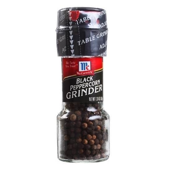 Picture of McCormic BLACK PERPER GRINDER-28gm