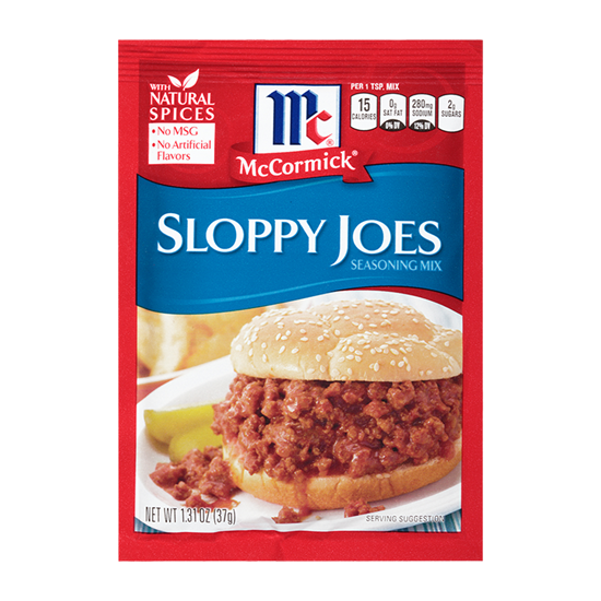 Picture of McCormic SLOPPY JOE SEASONING-37gm