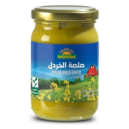 Picture of Mild Mustard, 210g, organic