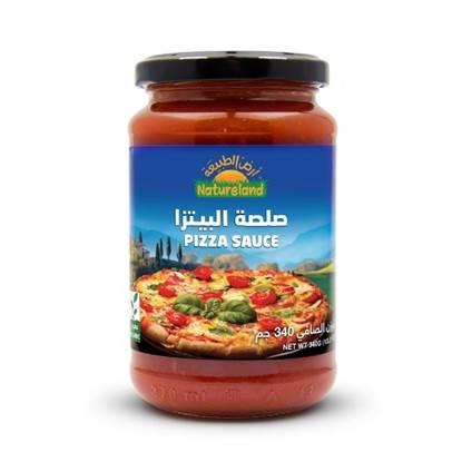 الصورة: صلصة البيتزا, 340جم, عضوى