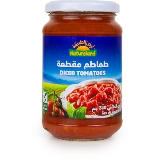 صورة طماطم مقطعة, 340جم, عضوى