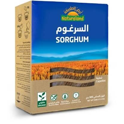 Picture of Cappellini Sorghum Pasta, 500g, organic