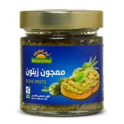 Picture of Green Olive Paste, 180g, organic