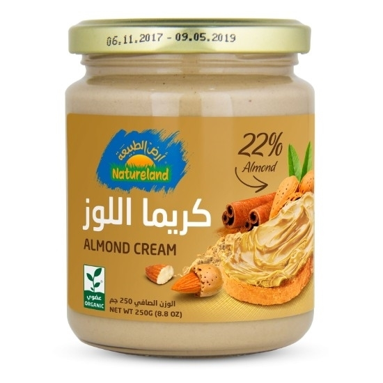 Picture of Almond Cream, 250g, organic