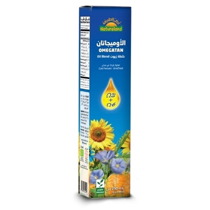 Picture of Natureland Omegatain Oil, 1/4 l, organic