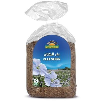 Picture of Flax Seeds, 500g, organic