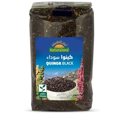 Picture of Black Quinoa, 500g, organic