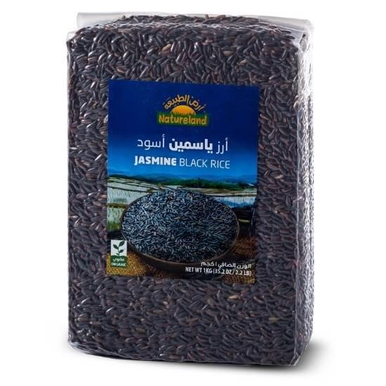 صورة أرز ياسمين أسود, 1كجم, عضوى