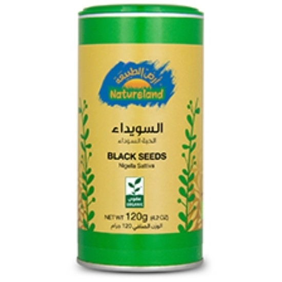 Picture of Black Seeds, 120g, organic Tin