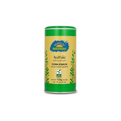Picture of Corn Starch, 100g, organic Tin