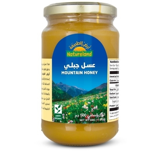 Picture of Mountain Honey, 500g, organic