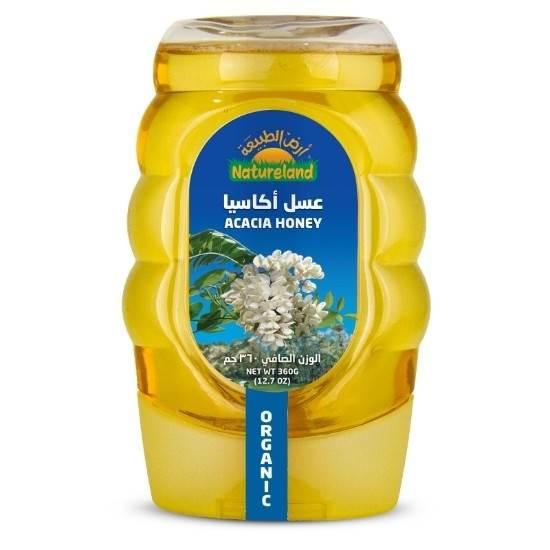 صورة عسل الاكاسيا أرض الطبيعة, 500جم, عضوى