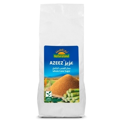 Picture of Azeez Whole Cane Sugar, 500g, organic